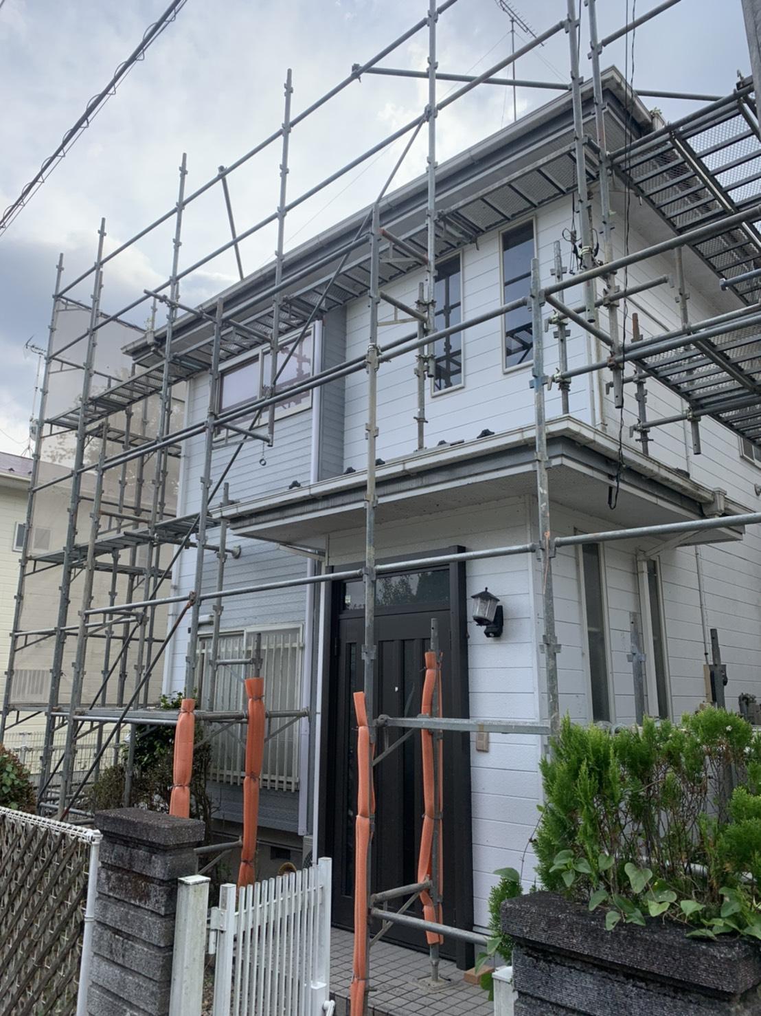 施工風景⑬ 一般住宅
