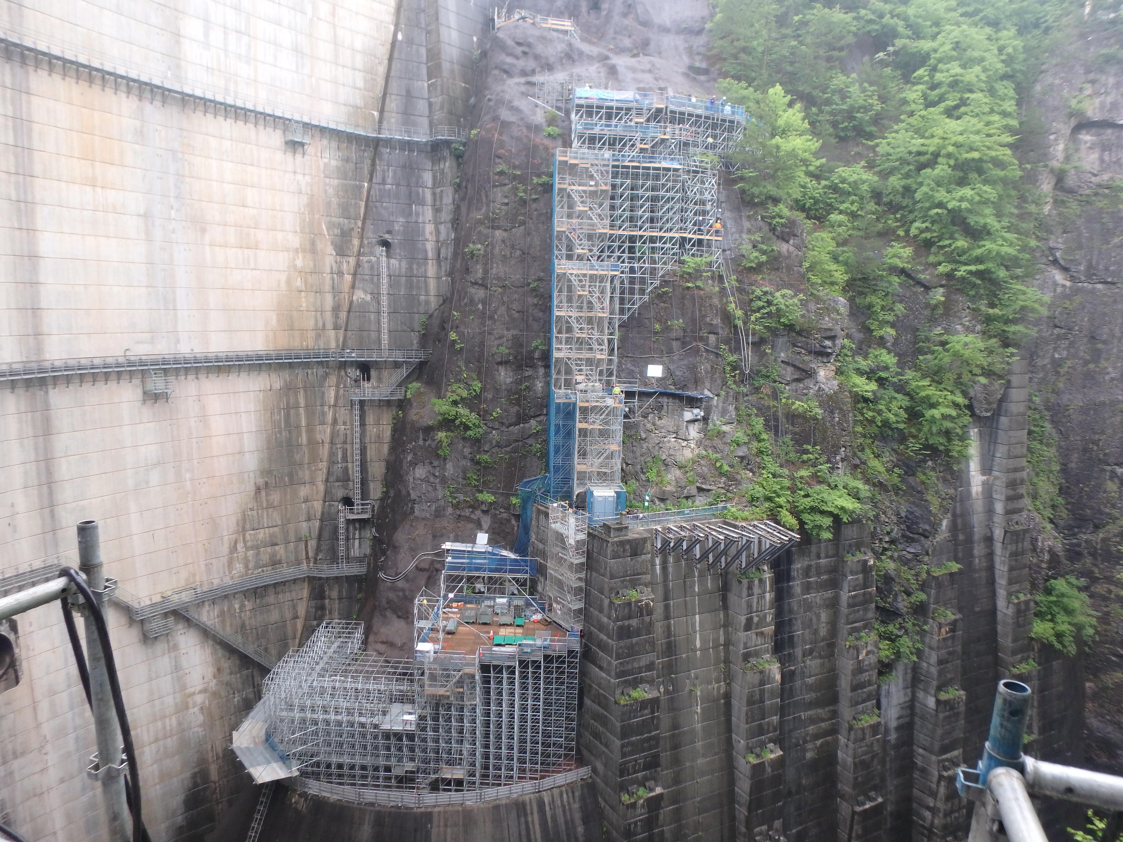 弊社施工 日光の川俣ダム