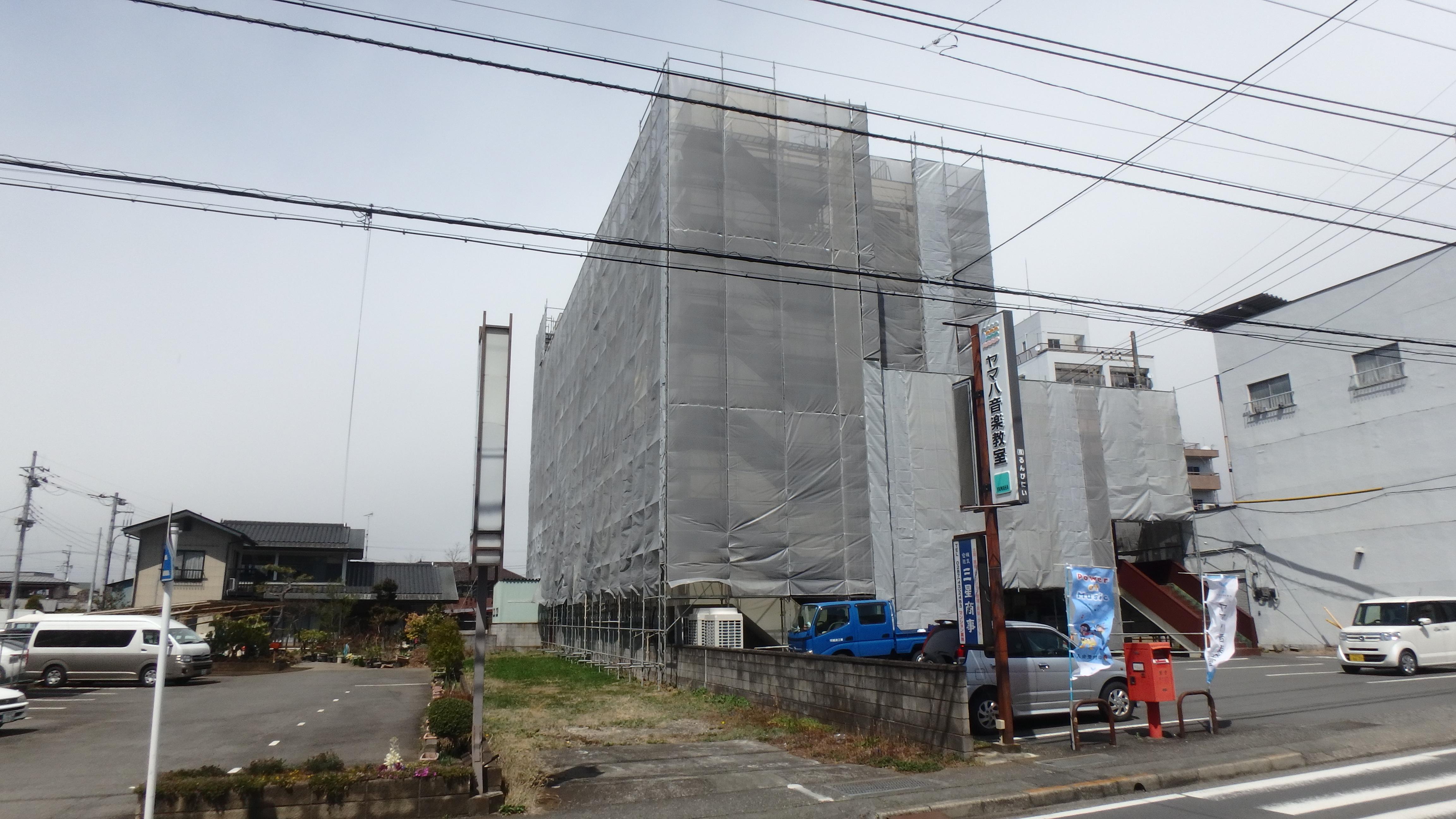 施工風景②
